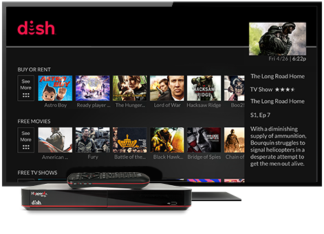Ondemand TV from DISH | D&D Satellite